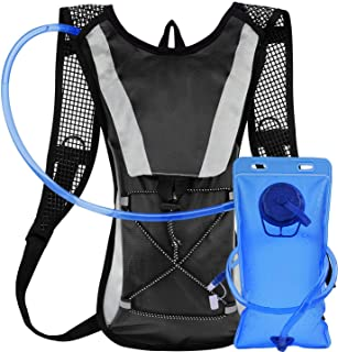 Home-Mart Backpack Water Bag Hydration Backpack with 2L Hydration Pack Water Bladder Hiking Backpack Cycling Rucksack Clim...