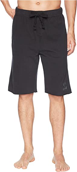 LIG Wordmark Fleece Lounge Short