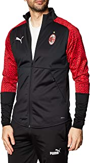 PUMA World Cup Soccer mens A.c. Milan Stadium Home Jacket