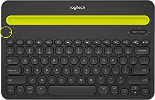 Logitech K480 Wireless Multi-Device Keyboard for Windows, Apple iOS android or Chrome, Wireless Bluetooth, Compact Space-S...