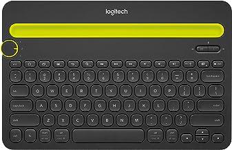 Logitech Bluetooth Multi-Device Keyboard K480 – Black – Works with Windows and Mac..