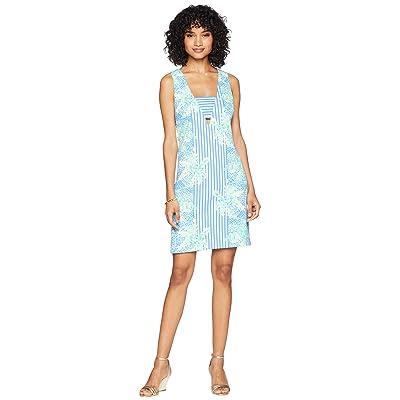 Lilly Pulitzer Chiara Shift Dress (Bennet Blue Tropic Like Its Hot) Women