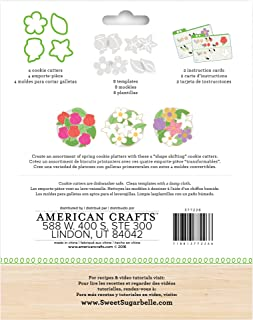 American Crafts Sweet Sugarbelle 14 Piece Spring Cookie Cutter Set