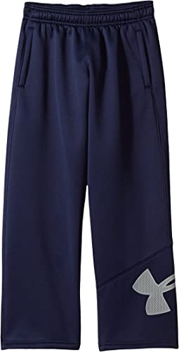 Armour Fleece Big Logo Pants (Big Kids)