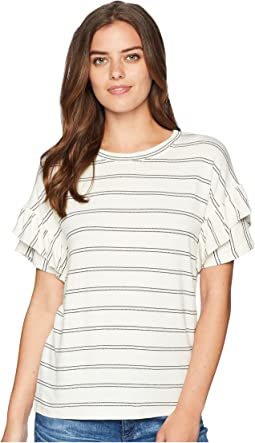 Miss Me Ruffle Sleeve T-Shirt