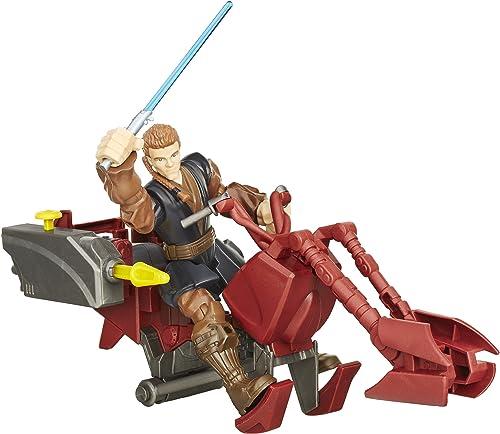 garantía de crédito Star Wars Jedi Hero Hero Hero Mashers Speeder y Anakin Skywalker  venta de ofertas