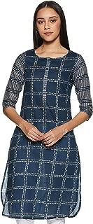 Max Women's Cotton Straight Kurta