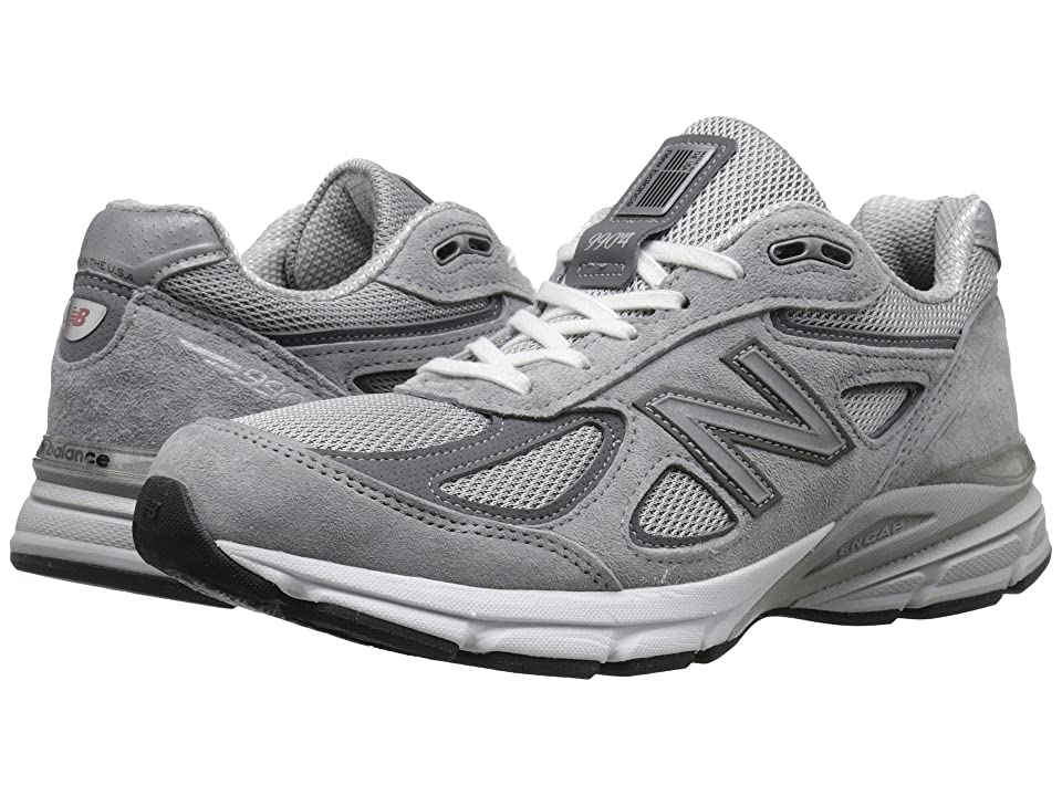 New Balance M990V4 (Grey/Castlerock) Men's Shoes