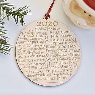 2020 Pandemic Christmas Ornament
