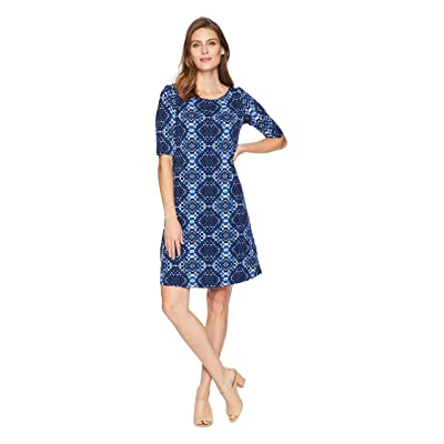 Tommy Bahama Indi-Coco Shift Dress (Ocean Deep) Women