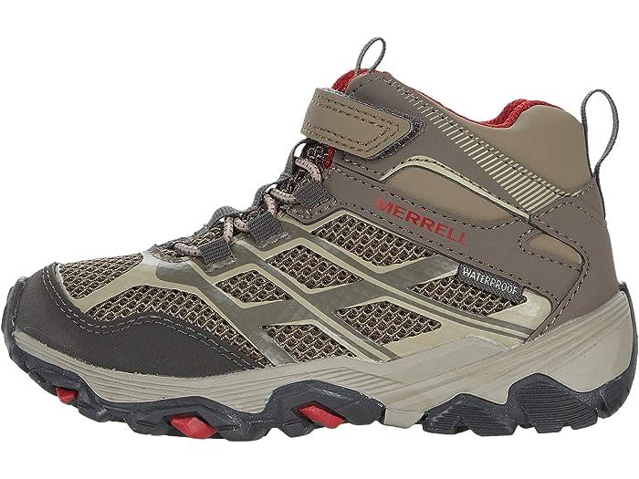 Merrell Unisex Kids M-Moab FST Mid a//C Waterproof High Rise Hiking Boots