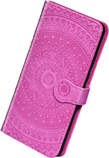 Herbests Kompatibel med Samsung Galaxy A8 2018 mobiltelefonfodral flip fodral solros mönster läder skyddande fodral vikbar...