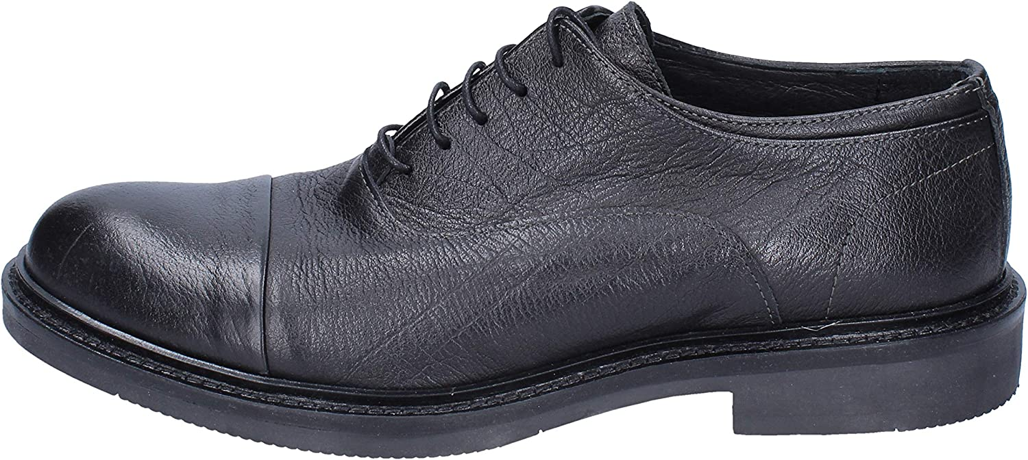 IL LACCIO Oxfords-shoes Mens Leather Black