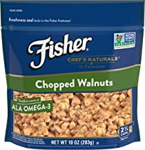 FISHER Chef's Naturals Chopped Walnuts, No Preservatives, Non-GMO, 10 oz