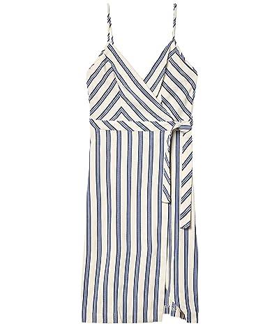 BCBGeneration Side Wrap Dress TRH6268185 (Gardenia) Women