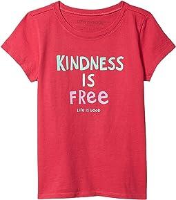 Kindness is Free Crusher Tee (Little Kids/Big Kids)