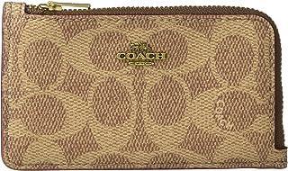 COACH Signature Small L-Zip Card Case