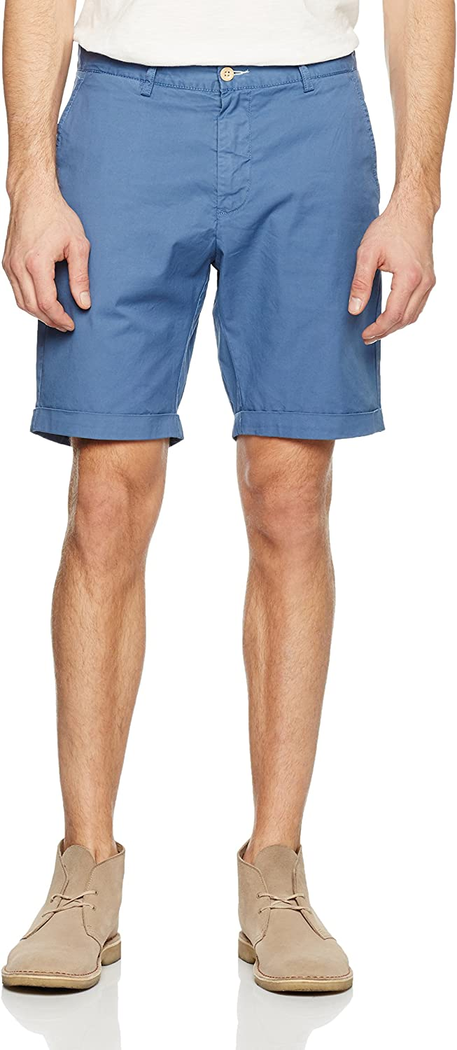 Gant Men's Regular Sunbleached Shorts, blueee