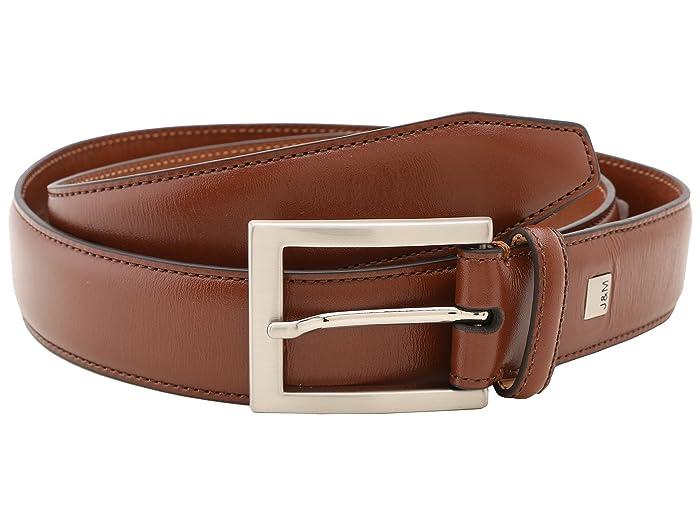Johnston & Murphy Johnston Murphy Dress Belt (Cognac) Men