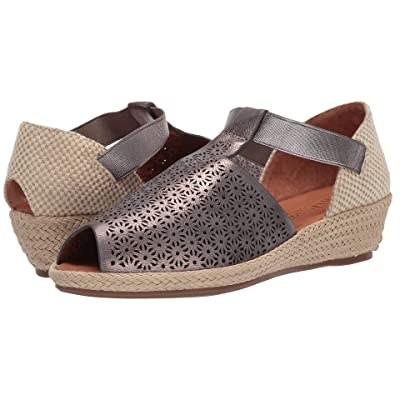 Gentle Souls by Kenneth Cole Luci T-Strap (Pewter) Women