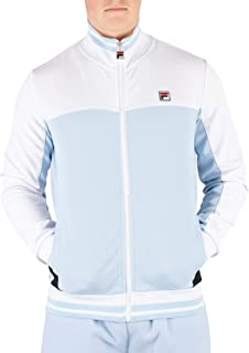 Fila Men's Tiebreaker Funnel Neck Track Jacket, Blue
