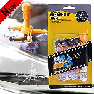 FILBA Windshield Repair Kit, Car Windshield Repair Kit with Pressure Syringes for Fix Windshield Chips & Cracks & Bulls-Ey...