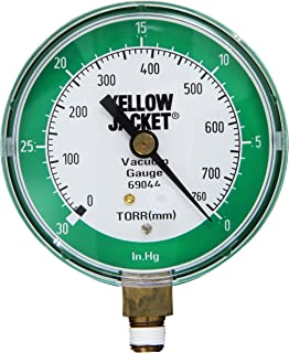Yellow Jacket 69044 Vacuum Gauge, 0-30