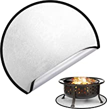 ACENX Fire Pit Mat for Outdoor Grill Cooking (24 inch), BBQ Grill Pad Under Grill,Grill Mat for Deck Grass Protector, Unde...