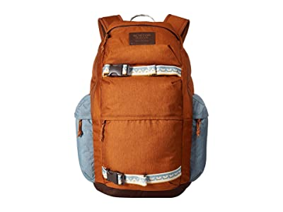 Burton Kilo Backpack (Caramel Cafe Heather) Backpack Bags