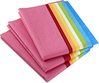 Hallmark Tissue Paper (Classic Rainbow, 8 Colors) 120 Sheets for Easter, Mothers Day, Birthdays, Gift Wrap, Crafts, DIY Paper Flowers, Tassel Garland and More