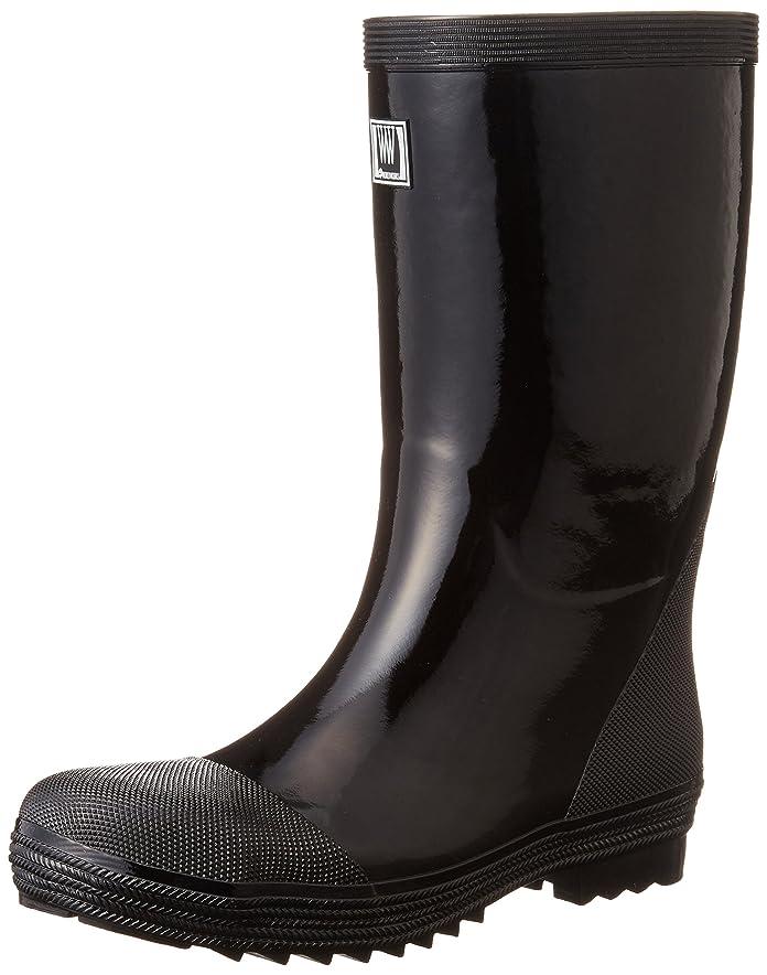 毎週熟読豊富おたふく手袋 安全軽半ゴム長靴 WW711 24.5cm