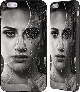 Official Riverdale Betty Cooper Broken Glass Portraits Black Aluminum Bumper Slider Case Compatible for iPhone 6 Plus/iPhone 6s Plus
