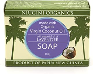 Organic Coconut Oil Soap Bar (Lavender, 3.5 oz x 24-pack)