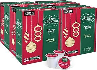 Green Mountain Coffee Roasters Holiday Blend, Single-Serve Keurig K-Cup Pods, Medium Roast Coffee, 96 Count