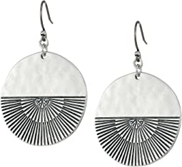 Rising Sun Drop Earrings