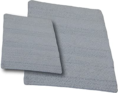 Amazon Com Mayshine Non Slip Bathroom Rugs Shag Shower Mat Machine Washable Bath Mats Runner With Water Absorbent Soft Microfibers 27 5x47 Inches Dark Blue Home Kitchen