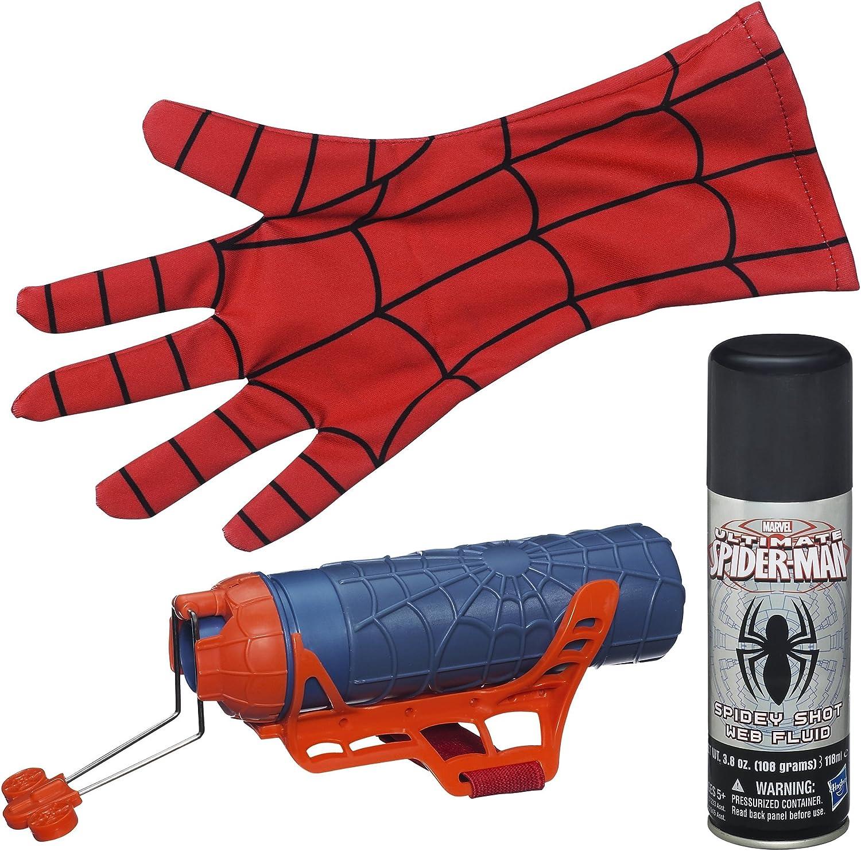 mas barato Hasbro A2945 Pistola de Juguete Arma Arma Arma de Juguete - Armas de Juguete (Pistola de Juguete, 5 año(s), Niño, Azul, Rojo, Marvel Ultimate Spider-Man, 1 Pieza(s))  ventas de salida
