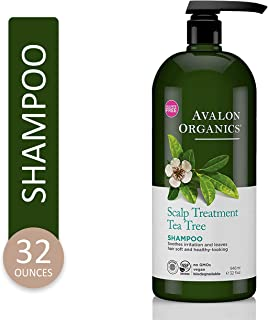 Avalon Organics Scalp Treatment Tea Tree Shampoo, 32 oz.