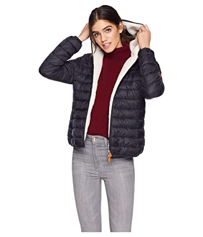 Save the Duck Basic with Sherpa Lining (Black) Women