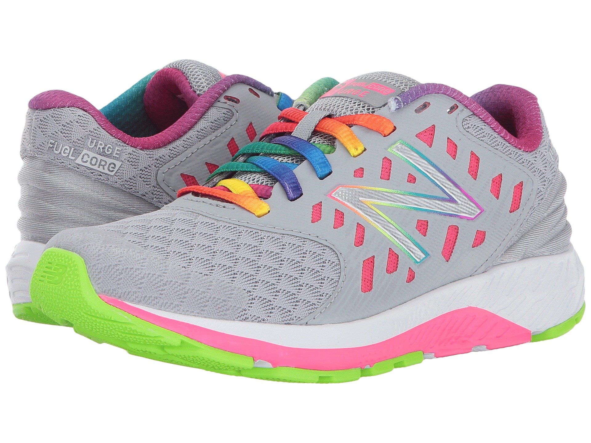 New Balance Girls' Urge V2 Road-Running-Shoes, Purple, 13 Extra Wide US Little Kid