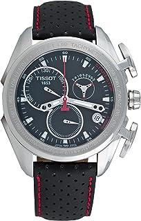 Tissot - T0186171605100 - Reloj analógico de caballero de cuarzo con correa de piel negra