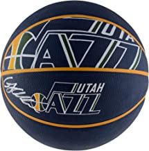Grayson Allen Utah Jazz Autographed Spalding Courtside Logo Basketball - Fanatics Authentic Certified