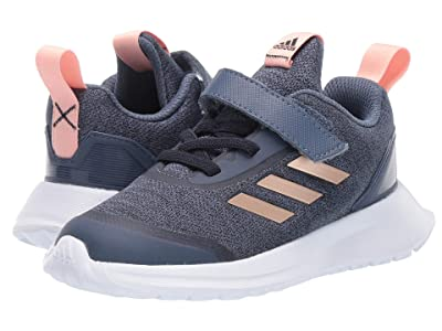 adidas Kids RapidaRun X EL (Toddler) (Ink/Copper) Girls Shoes