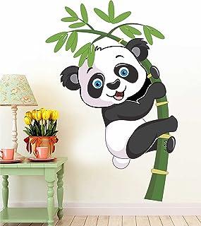 Paper Plane Design Wallpaper for Kids Room Self Adhesive Water Proof (Panda, L)