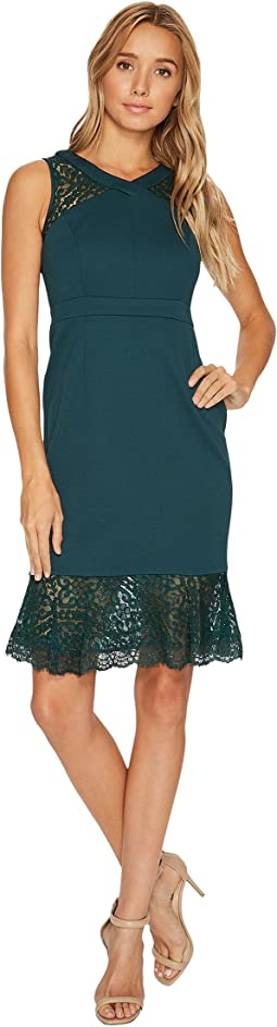 Adrianna Papell - Petite Midi Mermaid Dress