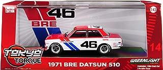 Greenlight 86335 1: 43 Tokyo Torque - 1971 Datsun 510 - #46 Brock Racing Enterprises (BRE) - John Morton