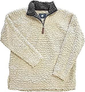 Live Oak Quarter Zip Frosted Pullover Fleece
