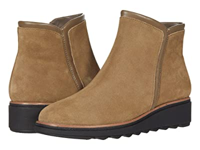 Clarks Sharon Heights (Taupe Suede) Women