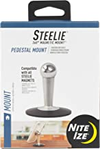 Nite Ize Original Steelie Tabletop Stand - Additional Pedestal Stand for Steelie Magnetic Phone + Tablet Mounting Systems