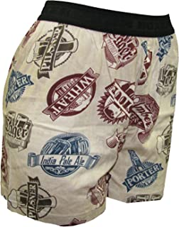 Fun Boxers Men's Craft Beer Lovers Boxer Shorts